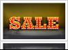 Illuminated Sale Sign